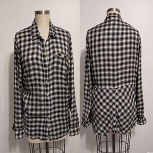 Lucky Brank Button Up Shirt Size Large